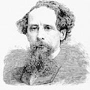 Charles Dickens, English Author Poster