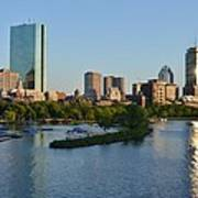 Charles River Reflection Poster