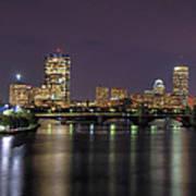 Charles River Reflections - Boston Poster by Joann Vitali