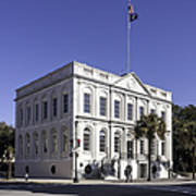 Charleston City Hall Poster