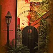 Charleston Garden Entrance Poster