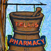 Charleston Pharmacy Poster