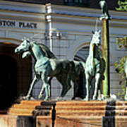 Charleston Place Poster by Karen Wiles