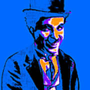 Charlie Chaplin 20130212m145 Poster by Wingsdomain Art and Photography