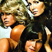 Charlies Angels Painting Poster