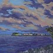 Charlotte Harbor Sunset Poster
