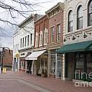 Charlottesville Virginia Downtown Mall Poster