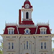 Chase County Courthouse In Kansas Poster