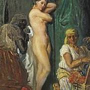 Chasseriau, Théodore 1819-1856. The Poster by Everett