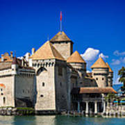 Chateau Chillon Poster