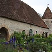 Chateau De Cormatin Kitchen Garden - Burgundy Poster