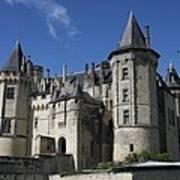 Chateau De Saumur Poster