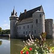 Chateau De Sully-sur-loire And Moat Poster