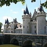 Chateau De Sully-sur-loire Poster