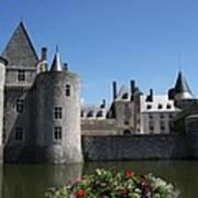 Chateau De Sully-sur-loire View Poster