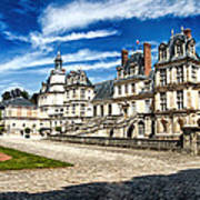 Chateau Fontainebleau - France Poster