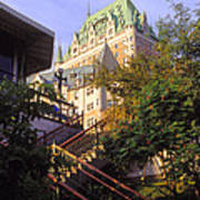 Chateau Frontenac In Quebec Poster