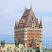 Chateau Frontenac Quebec City Canada Poster