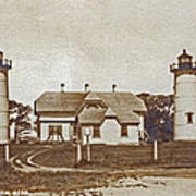 Chatham Twin Lights 1908-18 Poster