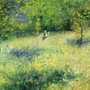 Chatou After Renoir Poster
