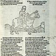 Chaucer: Prologue Poster