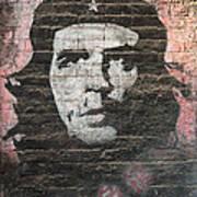 Che Guevara Wall Art In China Poster