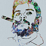 Che Watercolor Poster
