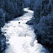 Cheakamus Glacial River - Whistler Poster