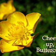 Cheer Up Buttercup Poster