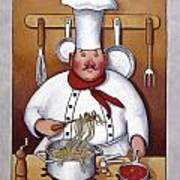 Chef 4 Poster by John Zaccheo