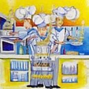 Chef's Kitchen Poster