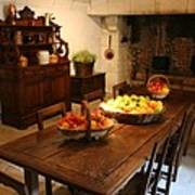 Chenonceau Kitchen  Poster
