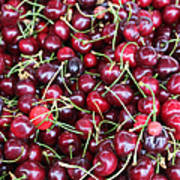 Cherries In Des Moines Washington Poster