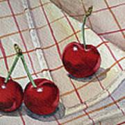 Cherry Talk By Irina Sztukowski Poster