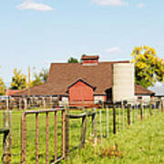 Cherryvale Barn Boulder Poster