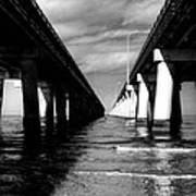 Chesapeake Bay Bridge II Poster