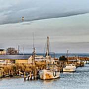 Chesapeake Fishing Boats Poster