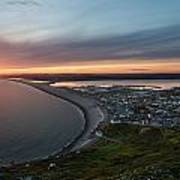 Chesil Beach Sunset  Poster