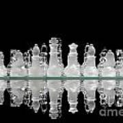 Chess Game Reflection Poster