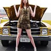 Chevelle Chick Poster