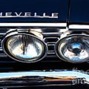 Chevelle Headlight Poster