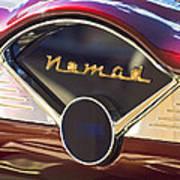 Chevrolet Belair Nomad Dashboard Poster