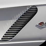 Chevrolet Corvette 1962 Poster