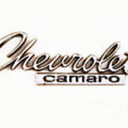 Chevrolet Camaro Emblem Poster