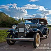 Chevrolet Confederate Ba Phaeton 1932 Poster
