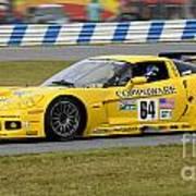 Chevrolet Corvette C6 Race Car Poster