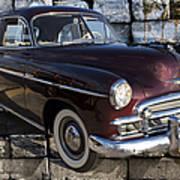 Chevrolet Deluxe Car Poster