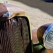 Chevrolet Grille Emblem - Head Light Poster