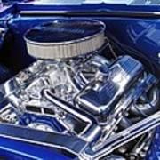 Chevrolet Hotrod Engine Poster