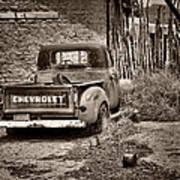 Chevrolet Pickup - Sepia Poster